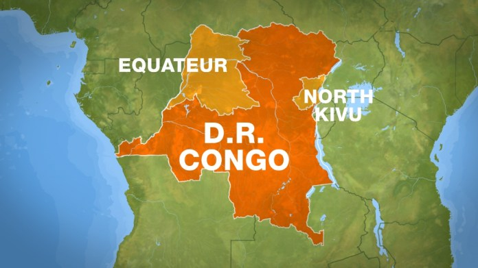 breaking news on new ebola deaths in DRC