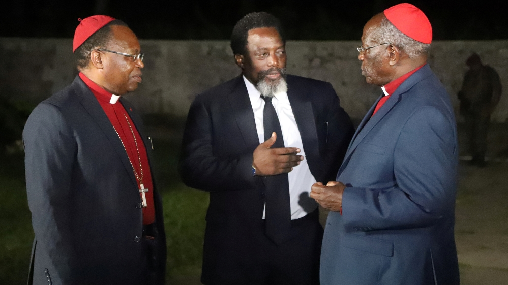 DR Congo Kabila will not go for re-election