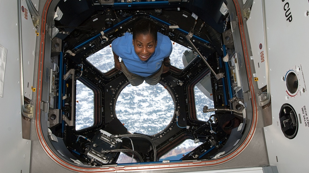 All-woman spacewalk coordinator Stephanie Wilson