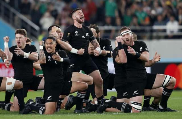 New Zealand rugby - free size - reuters