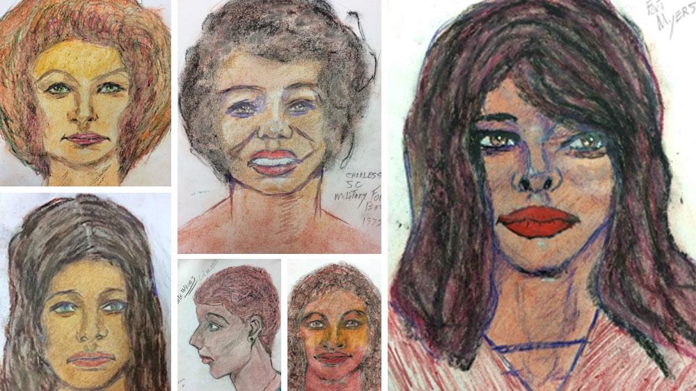 Samuel Little drawings