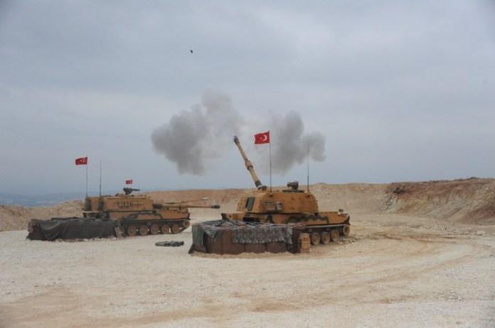 SANLIURFA, TURKEY - OCTOBER 09: (----EDITORIAL USE ONLY – MANDATORY CREDIT -