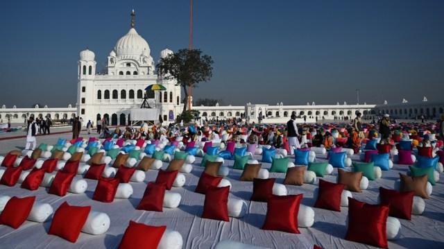 Pakistan Sikh shrine