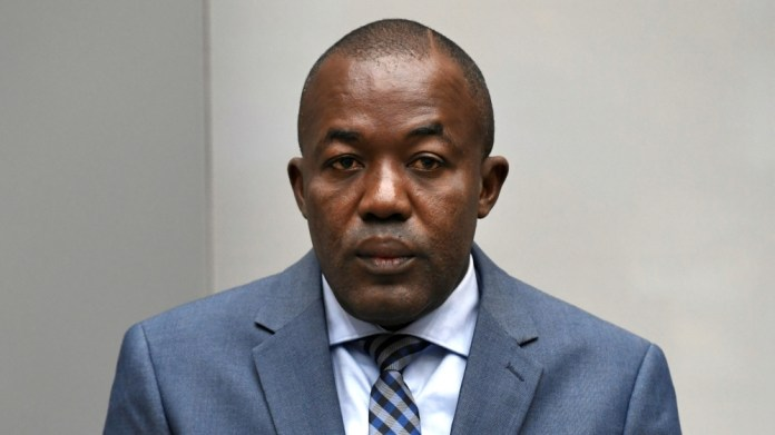 War crimes suspect Alfred Yekatom appears before the International Criminal Court in The Hague