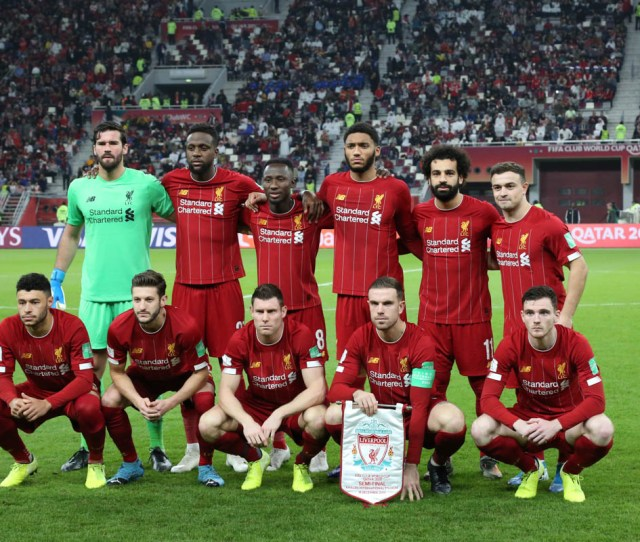 In Pictures Liverpool Reach Club World Cup Final After Late Goal