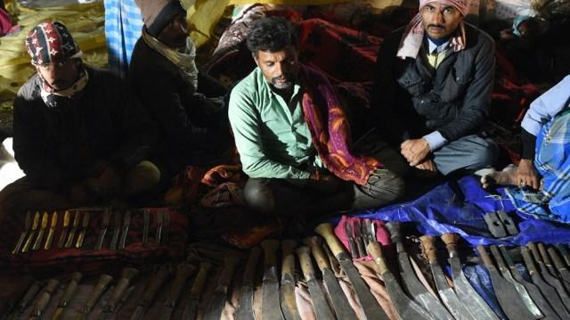 Gadhimai Festival in Baryarpur, Nepal