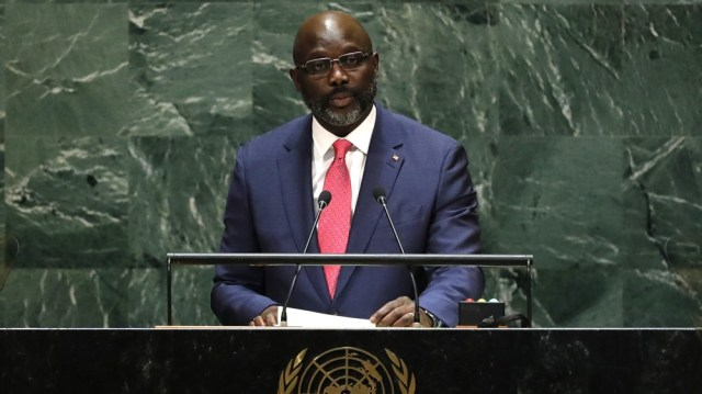 George Weah, Liberian President