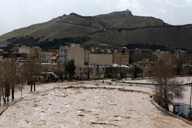 The floods first began in the second half of March in the northern provinces of Golestan and Mazandaran and later spread further across the country. [Saeed Soroush/EPA]