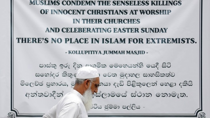 Image result for Members of Zion Church, which was bombed on Easter Sunday, pray at a community hall in Batticaloa, Sri Lanka, May 5, 2019. REUTERS/Danish Siddiqui
