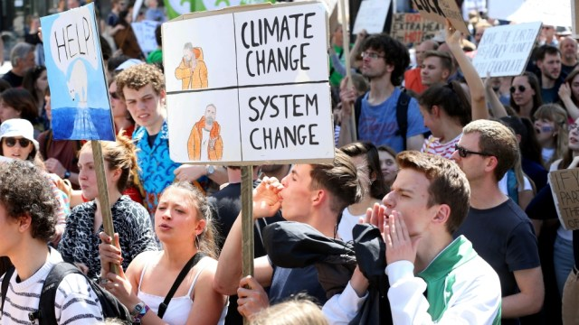 Climate Change Demonstration in Brussels