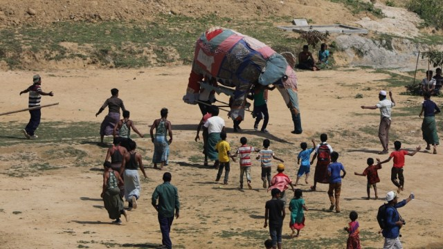Rohingya tusk force - Life after conflict - Earthrise