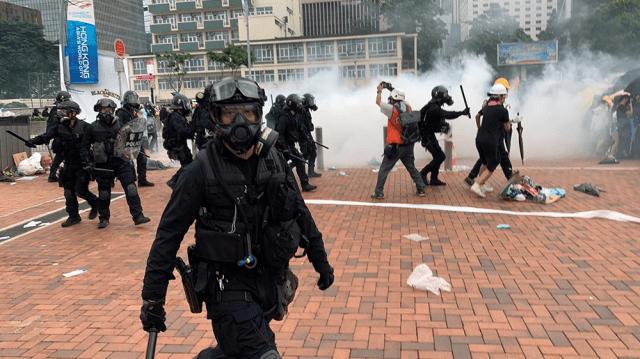 Hong Kong protests [Euan McKirdy/Al Jazeera]