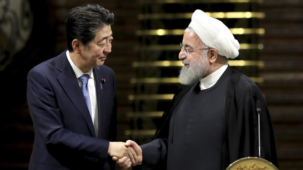 Shinzo Abe Hassan Rouhani