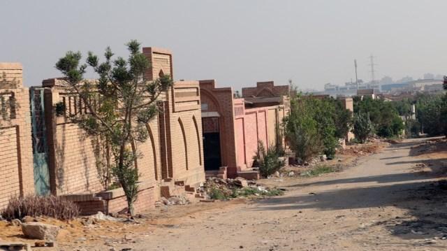 El cementerio de Al-Wafaa Wa al-Amal, después del ex presidente egipcio Mohamed Morsi