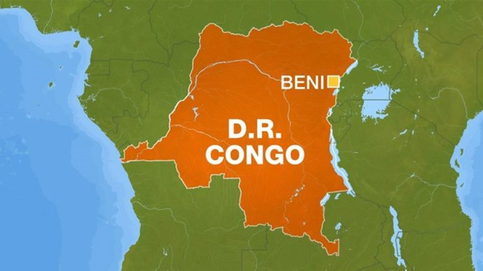 DR Congo - Beni map