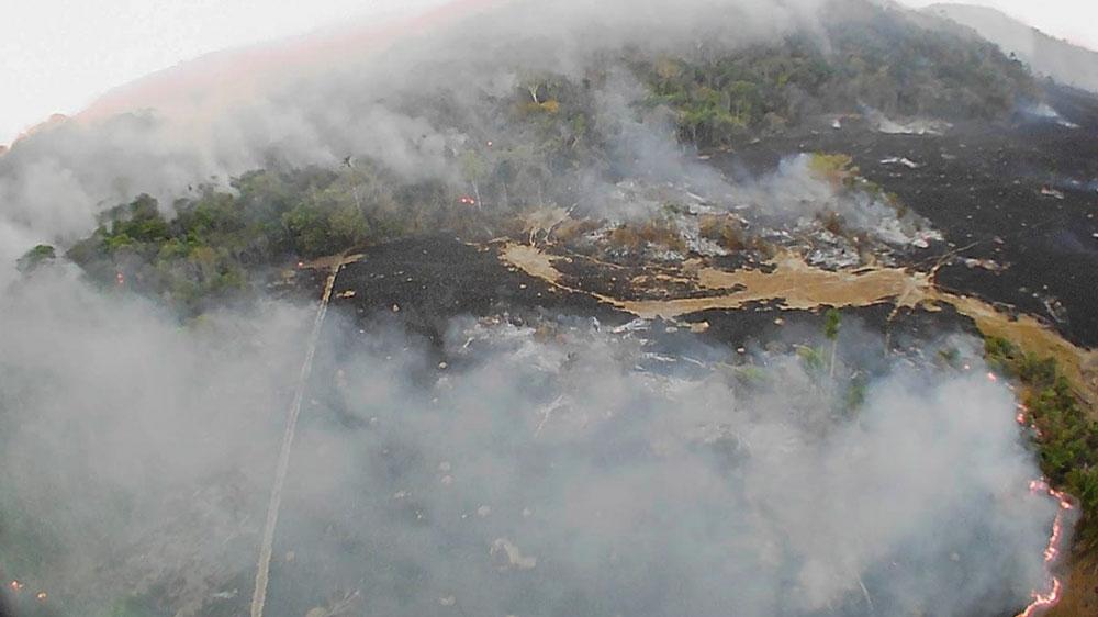 Brazil wildfires