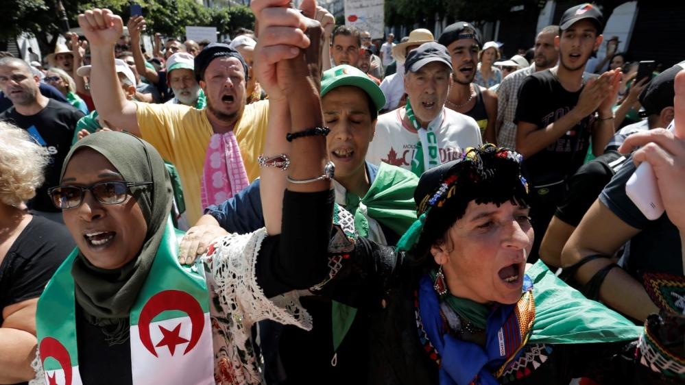 Algiers protest