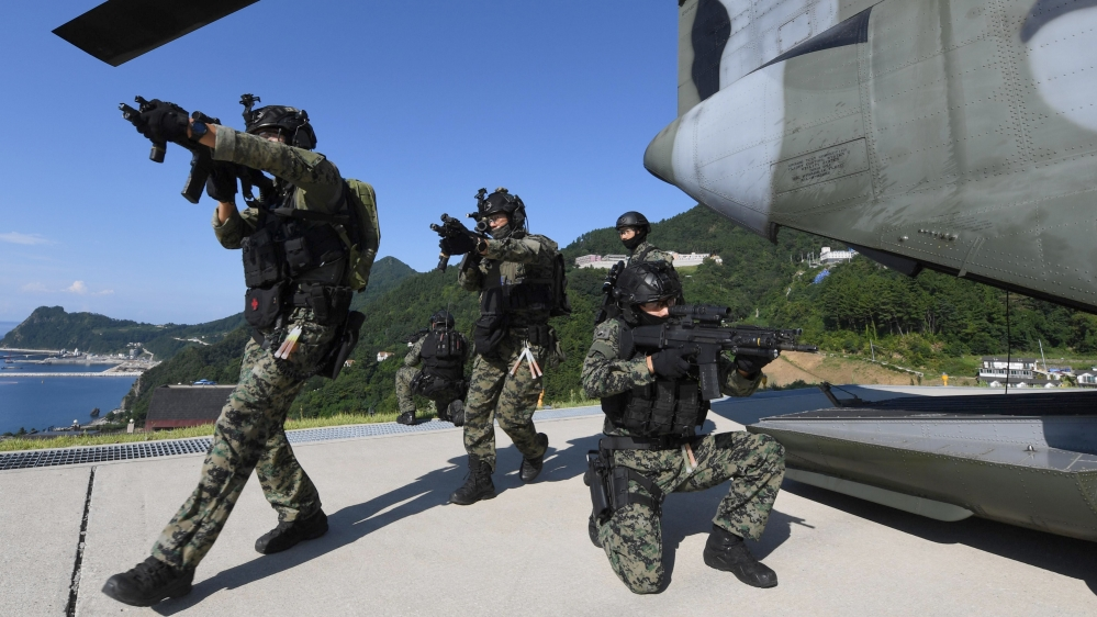 South Korean Navy Launches Dokdo Defense Drills