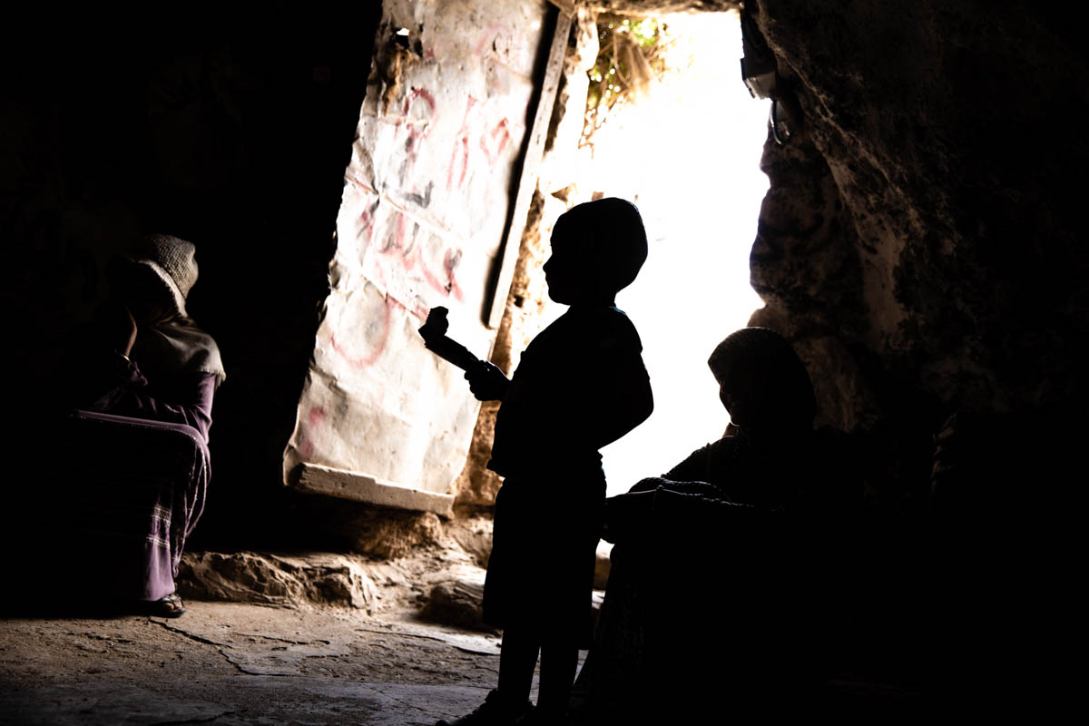 Caves and pre-1977 houses are no longer sufficient to accommodate a growing population. [Alyona Synenko/ICRC]