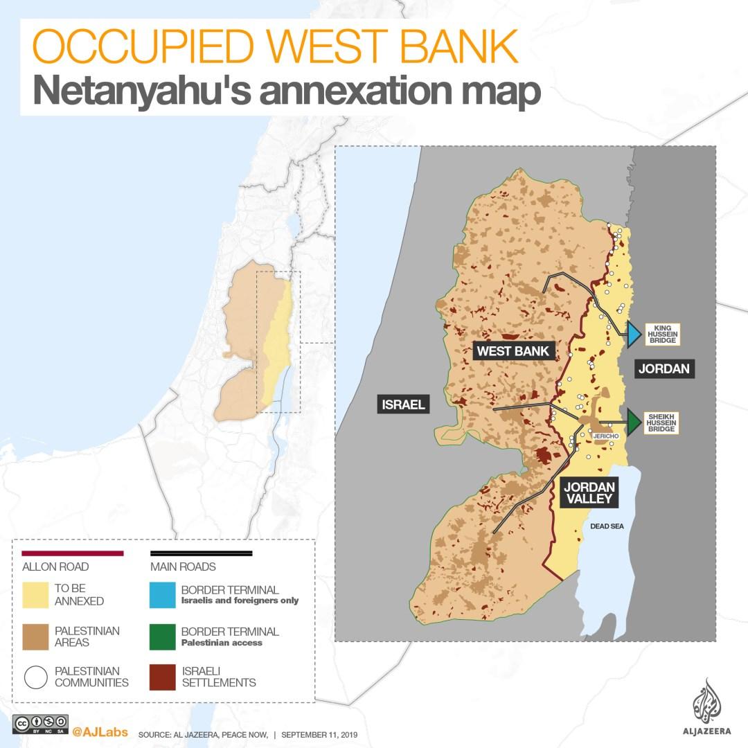 INTERACTIVE: Occupied West Bank - Jordan Valley Sept 12 2019