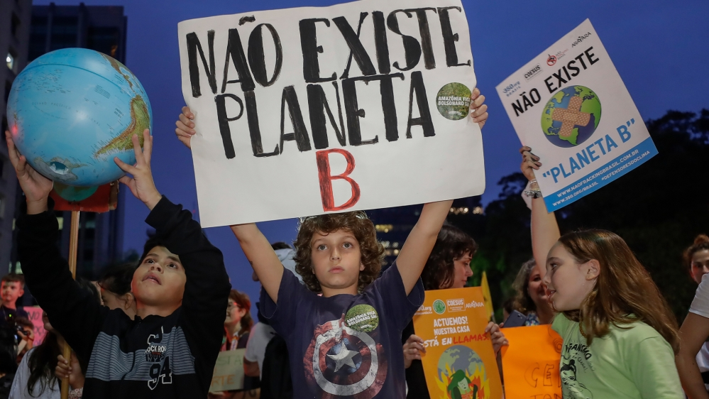 BRAZIL CLIMATE PROTESTS