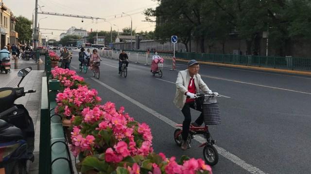 China parade preps