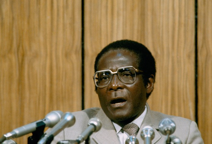 Mugabe embraced socialism. He spent 11 years in jail, waging a rebellion from behind bars. After Zimbabwe's Independence, Mugabe was elected prime minister. After two terms, he abolished the position and became president in 1987, a post he held for 30 years. [File: AP Photo]