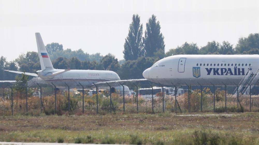 Russia Ukraine prisoner swap plane
