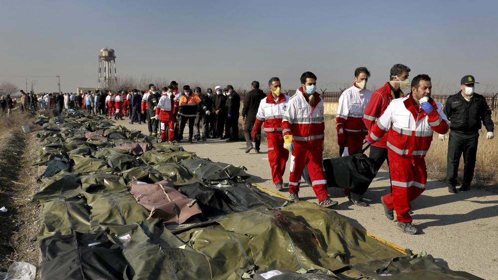 "Iran's President Says Downing Ukrainian Plane An ""unforgivable Error"""