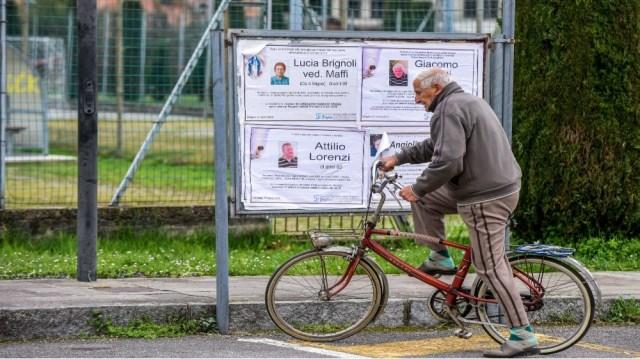 Elderly Italian man