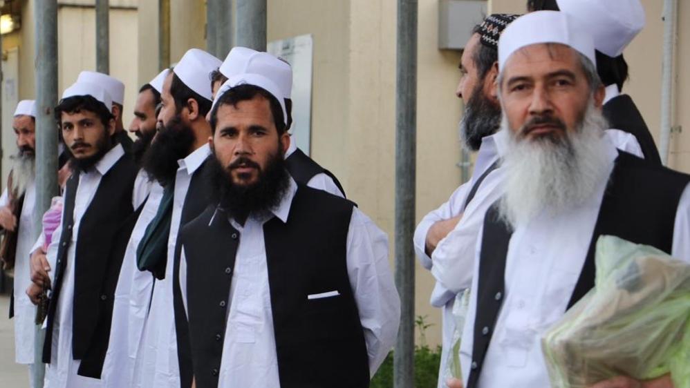 افغان حکومت نے 100 طالبان کو رہا کیا