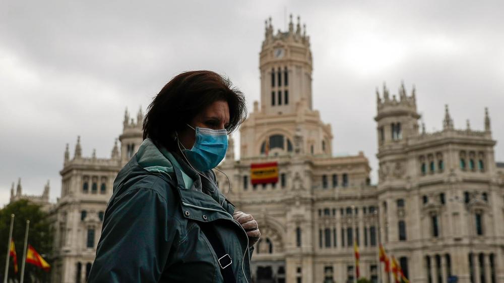 Coronavirus precautions in Spain