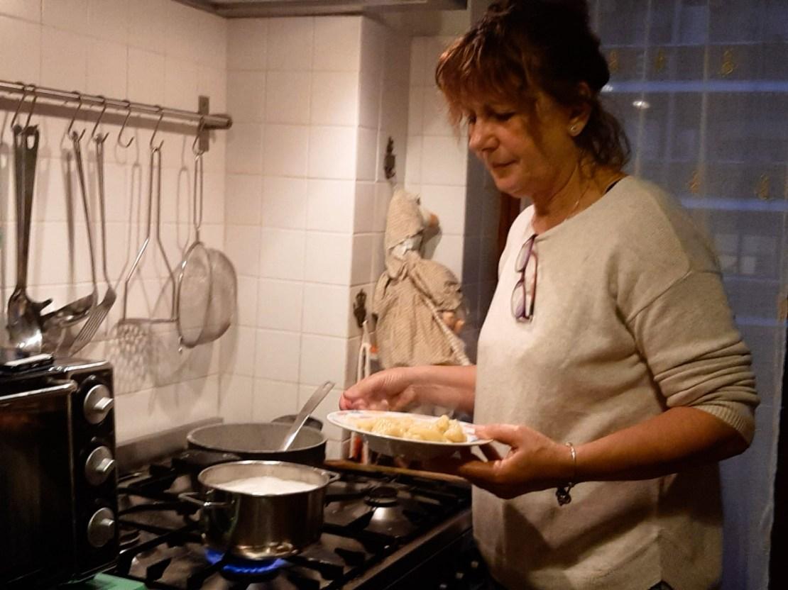 Marianna Cerini - Mom cooking