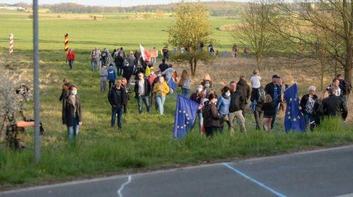 poland border protest