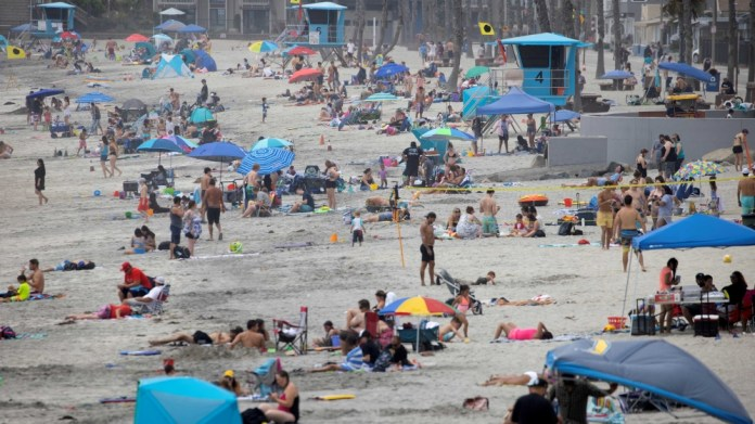 Beach California