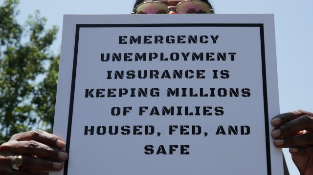 US federal jobless benefits expire