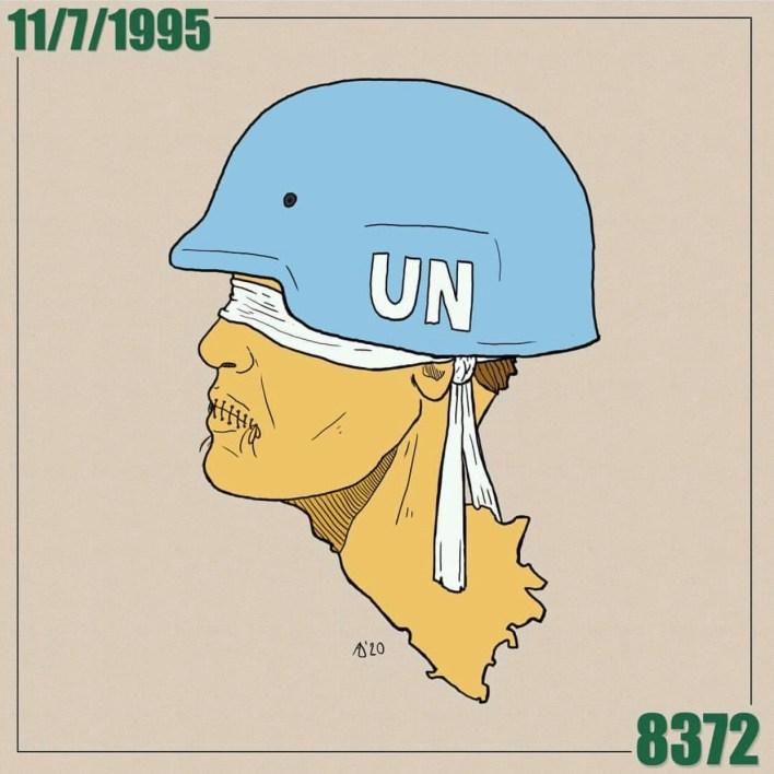 ISO Certificate UN Srebrenica. Admir Delic/Al Jazeera