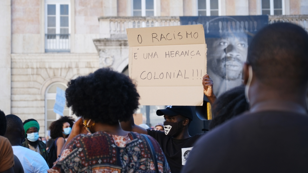 Portugal BLM protest