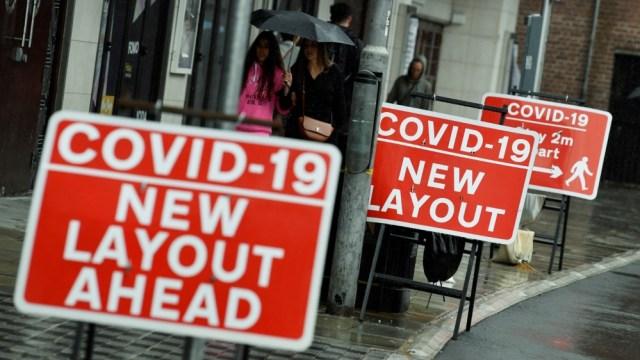 FILE PHOTO: The coronavirus disease (COVID-19) outbreak, in London
