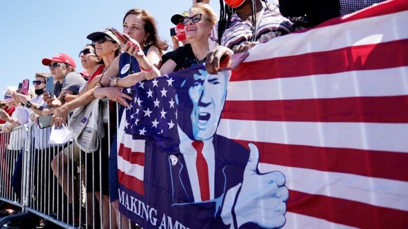 پایان لائن - کیا ٹرمپ کا پیغام جیت رہا ہے؟