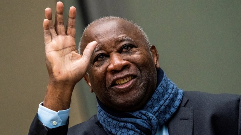 Former Ivory Coast President Laurent Gbagbo appears before the International Criminal Court in The Hague, Netherlands February 6, 2020, Netherlands February 6, 2020. Jerry Lampen/Pool via REUTERS