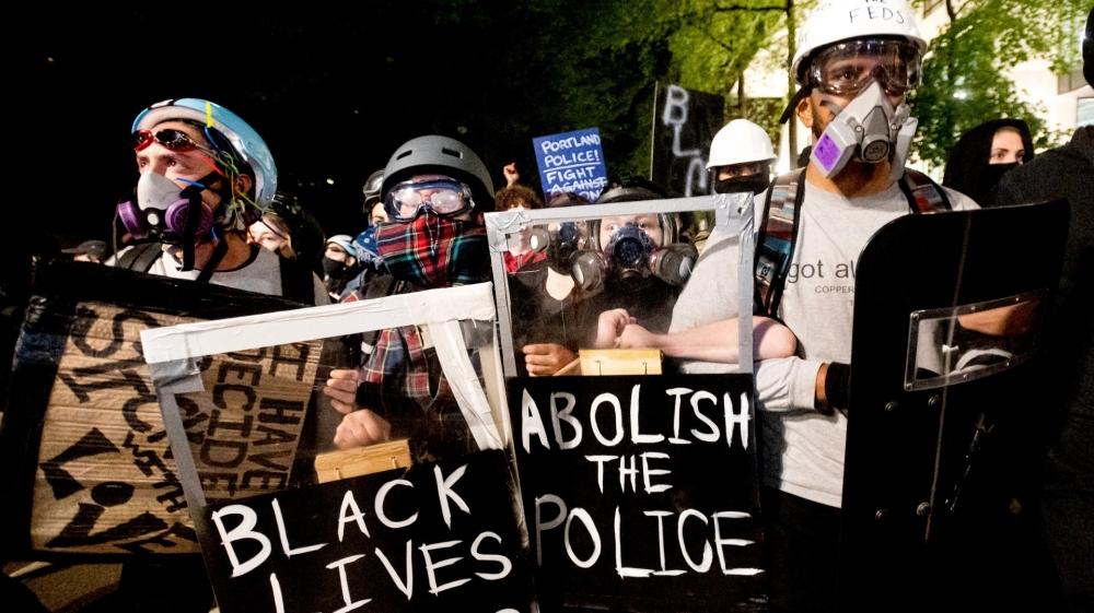پورٹلینڈ احتجاج