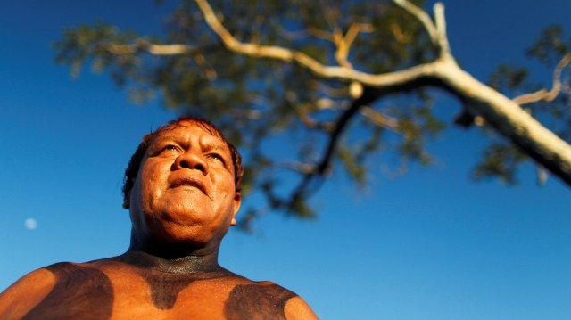 FILE PHOTO: Yawalapiti chief Aritana is seen in the Xingu National Park