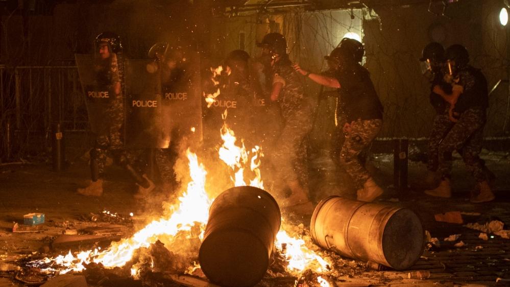 احتجاج لبنان