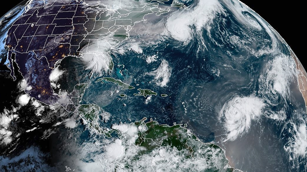 Hurricanes in Atlantic and Gulf