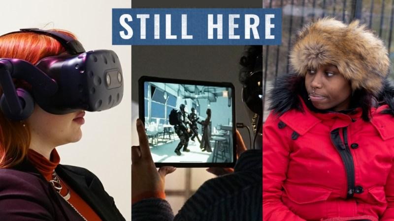 AJ contrast documentary Still Here