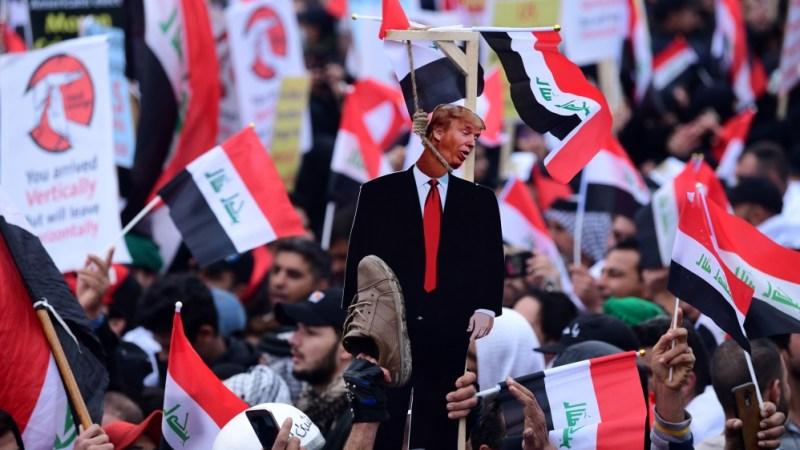 Anti-US Protest - Iraq