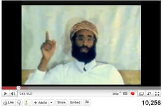 Anwar Al-Awlawki, notoriously adept in using youtube to spread al Qaeda's message