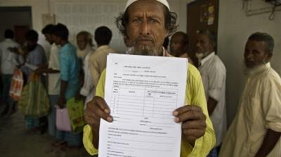 Assam NRC process, India