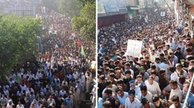 Azad Kashmir protests [Courtesy of JKLF]